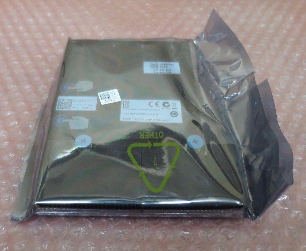 Dell G8RPD 540-BBHS 57800 2x 10Gb BT + 2x 1Gb BT Network Daughter Card