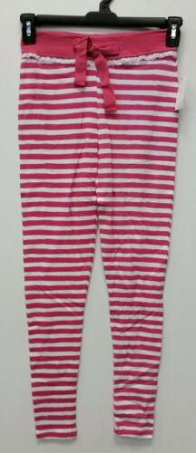 Kmart Women/'s Spring Stripe Sleep Pant Pink and White Size MEDIUM M NEW with TAG