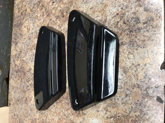 Harley-Davidson FXR Side Covers Vivid Black 84-94