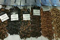 Human Blend Hair For Braiding Glamour Curl Bulk 18 - Free Shipping