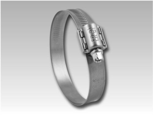 Abrazadera de manguera de 13 mm w2 acero inoxidable calidad superior 19-26 mm a 140-160 mm