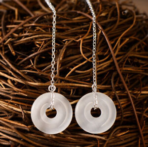 A01-Earring-Threader-Silver-925-Circle-Made-of-White-Opal