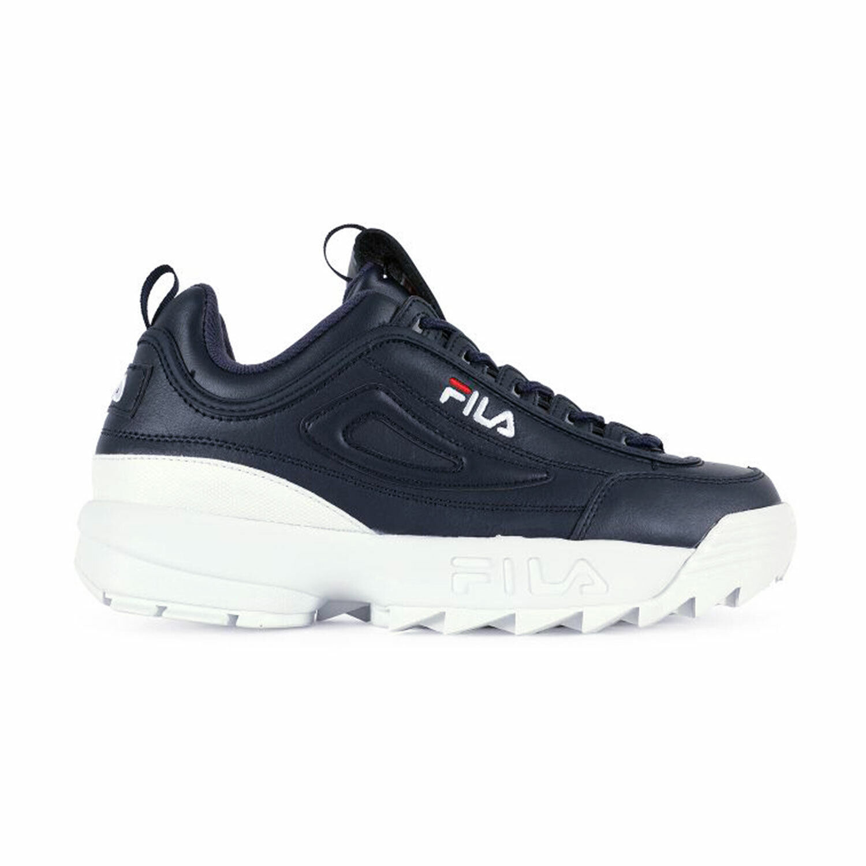 Fila Disruptor 2 Premium Mens Shoes Navy-White-Red 1fm00139-422