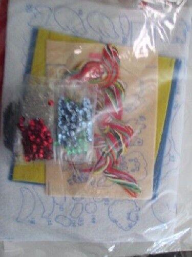 """Bucilla Christmas Ornaments Felt /& /""""Jeweled/"""" Kit Your Choice"""