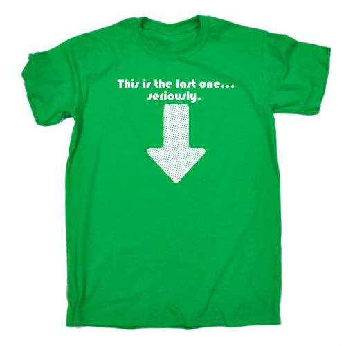 This Is The Last One Baby MENS T-SHIRT birthday parents husband wife gift