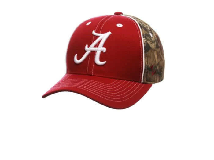 Zephyr Adult Alabama Crimson Hat Tide Hideaway SnapBack Adjustable Cap Hat Crimson NWT 00e182