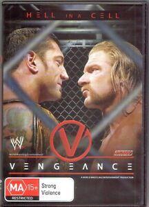 WWE-Vengeance-DVD-2005-Near-Mint