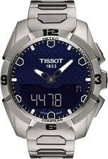 T0914204404100 T-Touch Experts Solar Men's Watch Quartz Digital titanium