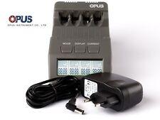 Opus BT-C700 Inteligente Ladegerät für AA / AAA, NIMH, NiCd Akkus