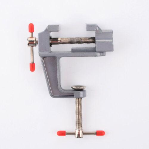 "Mini Tisch Schraubstock 3,5 /""Work Bench Clamp Drehgelenk Vice Craft Repair TRSDE"