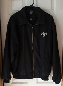 Details about VANTAGE Jack Daniels Old No  7 - PROMO - NOS Golf Jacket  Black Size M (FITS L)