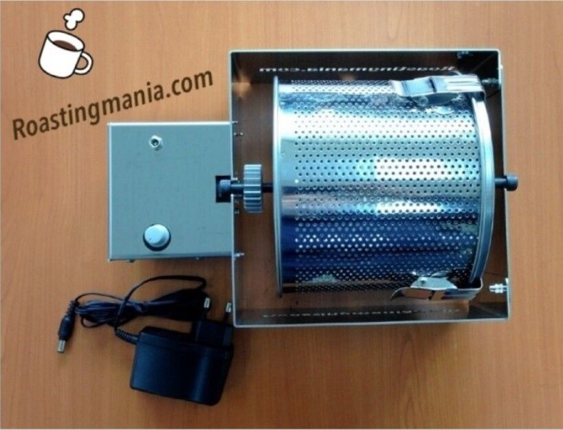 Grillage Mania Coffee Bean Roaster RM 201 Tous inoxydable Cadre pour CAFE Max 500 g