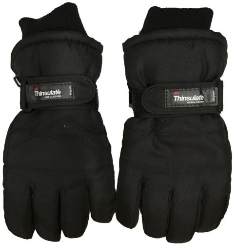 Men Extreme Cold Weather 3M Thinsulate Insulation 40Gram Ski Gloves