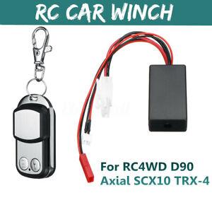 Auto Crawler Winch Remote Controller Receiver for 1//10 D90SCX10 Climber Truck
