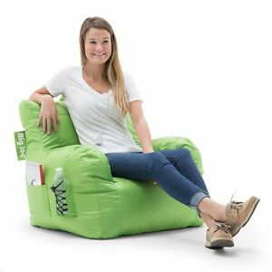 Amazing Details About Big Joe 645185 Dorm Bean Bag Chair Spicy Lime Pabps2019 Chair Design Images Pabps2019Com