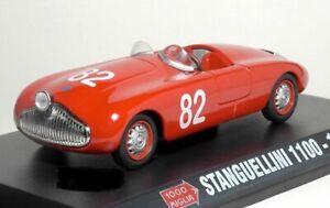 stanguellini 1100 1948 Rot Mille Miglia 1000 1//43 Starline Modellauto Modell Aut