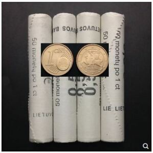 Euro-Coin-1-Cent-Lithuani-50pcs-in-Roll-50-1