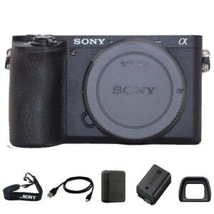 Sony Alpha a6500 Mirrorless Digital Camera (Body Only) Brand New