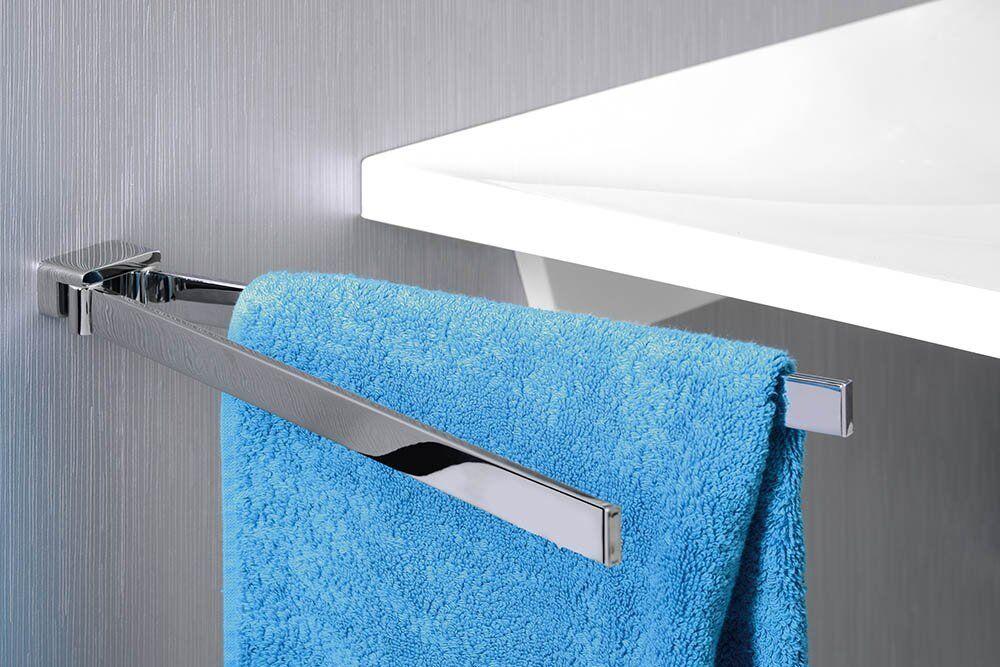 Handtuchhalter 2-Fach drehbar EVEREST-Serie Messing Chrom