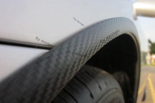 A3 felgen tuning x2 Radlauf Verbreiterung CARBON opt Kotflügelverbreiterung neu