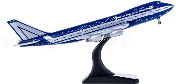 1 400 JC vinges Alitalia BOEING 747 -200B Passagerarplan tärningskast plan modelllllerlerl