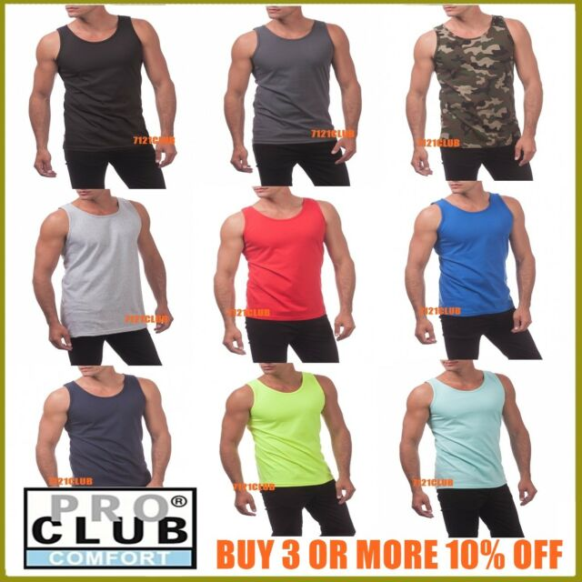 Men/'s Solid Sleeveless Shirts Active Pocket Tee Gym Sports Tank Top S M L XL