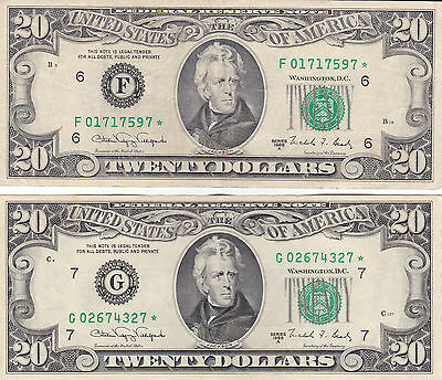 VERY RARE 2013 $10 DOLLAR BILL STAR ✯ NOTE ATLANTA FEDERAL RESERVE MF 00124886 ✯