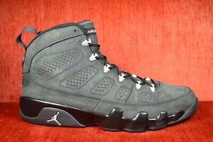 Details about CLEAN Nike Air Jordan 9 Retro Anthracite White Black 302370  013 Size 13