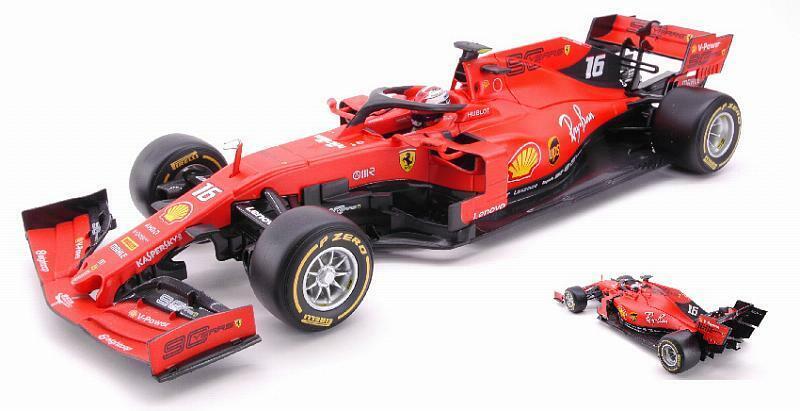 Ferrari SF90 2019 Charles Leclerc 1 18 BBURAGO 16807L