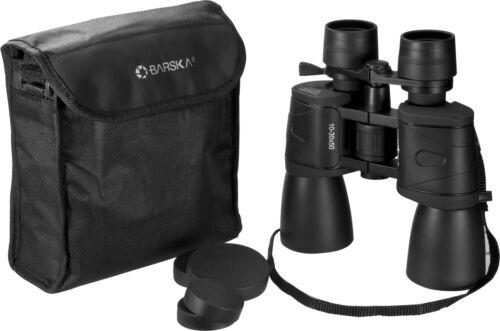 AB10168 Barska 10x-30X 50mm Zoom Binoculars with Carry Case /& Strap