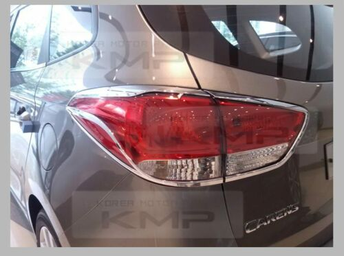 Chrome Headlight Taillight Lamp Molding Trim C480 C481 For KIA 2013-2017 Rondo