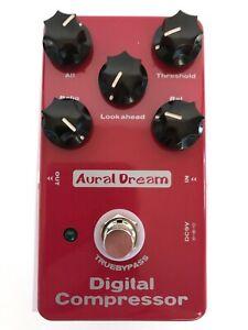 New-Aural-Dream-Digital-Compressor-Guitar-Effect-Pedal