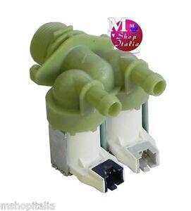 ELETTROVALVOLA 2 VIE LAVATRICE Candy Hoover Zerowatt 220-240V 41018989 ORIGINALE