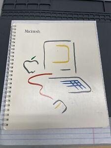 Apple Macintosh Manual 1984 128K  Product #M1500 Very Good Condition M0001