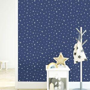 Over-The-Arc-En-Ciel-Stars-et-Lunes-Brille-dans-le-Noir-Peint-Marine-Lunes-90982