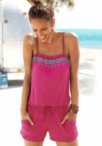 US Women Summer Sleeveless Shorts Rompers Party Beach Clubwear Bodysuit Jumpsuit