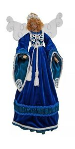 "Katherine's Collection 21"" Azure Angel Christmas Tree Topper New"