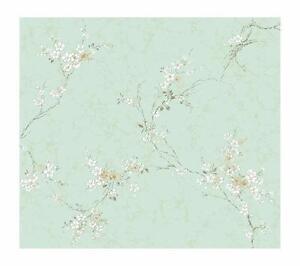 Wallpaper-Designer-Wisteria-Vine-Pearlized-Sea-Foam-Green-White-Sand-Beige