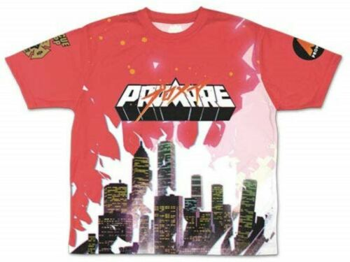 Promare Full Graphic T-shirt Red Cosplay Select Size M L XL From Japan