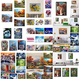 NE-KF-JN-Landscape-DIY-Oil-Painting-By-Number-Unframed-Wall-Art-Home-Office-D