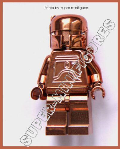 lego custom Lego Boba Fett Copper chrome star wars minifigure