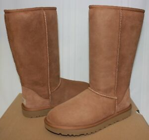 8a98ada6d556 UGG Women's Classic Tall II Chestnut Suede Boots 1016224 New With ...