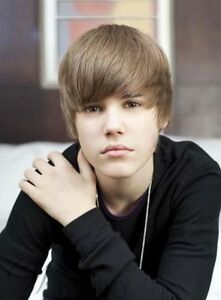 handsome cute justin bieber hairstyle short straight brown wig 8