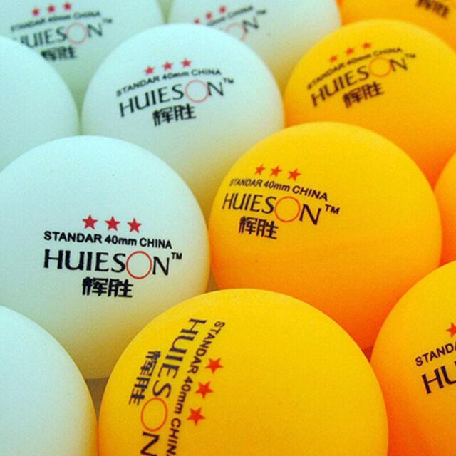 Professional Table Tennis Balls 3 Star 40mm ABS Ping Pong Training Balls