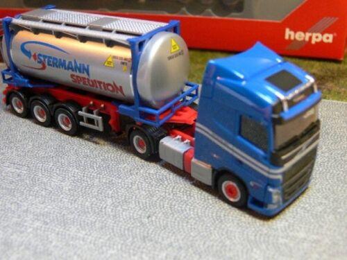 1//87 Herpa Volvo FH GL Stermann Tankcontainer-Sattelzug 304269