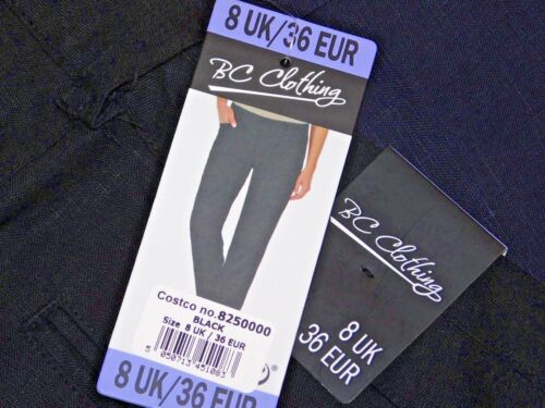 Ladies BC Clothing Smart Casual 100/% Linen Trousers Holiday Summer wear BNWT