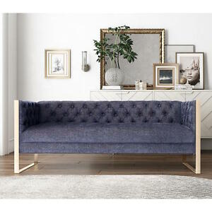 Image Is Loading Mid Century Modern Glam Navy Amp Rose Gold