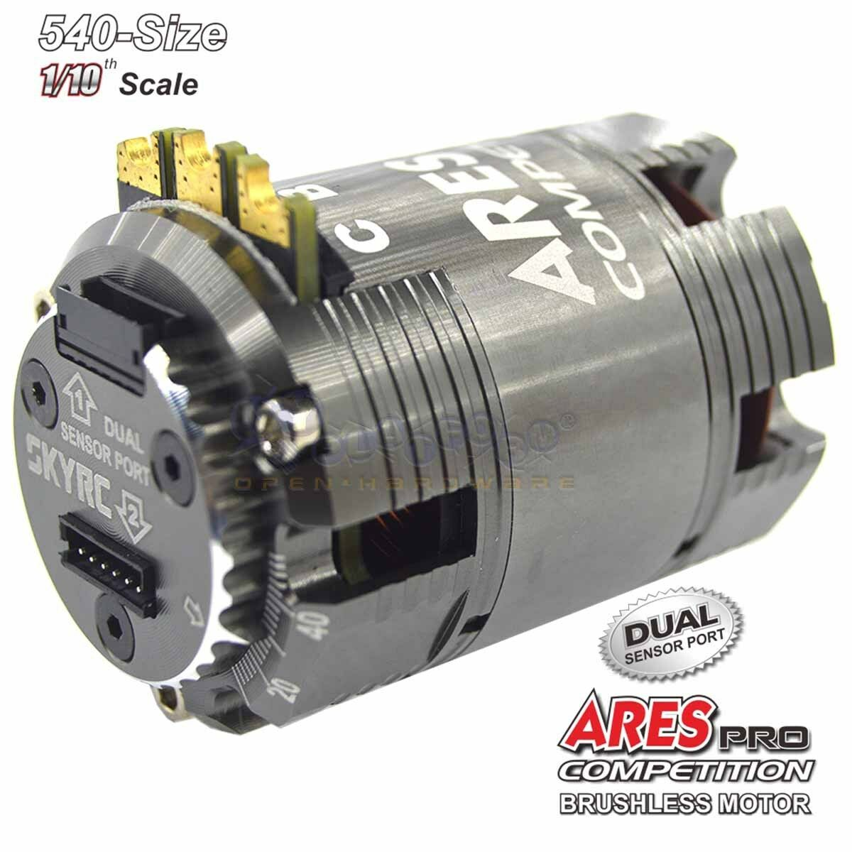 SkyRC Ares Pro Competition 540 Brushless, Sensored Mod Motor 4.5T 7620KV