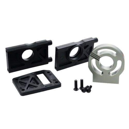 1//8 RC Car Motor /& Differential Mount Plate Kit for Kyosho HSP SST Hobao FS