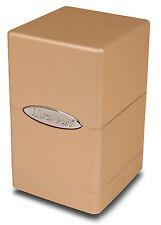 1 Ultra Pro Metallic Satin Tower Deck Box - Metallic Caramel - MTG Gaming